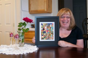 Diane With Her Mosaic