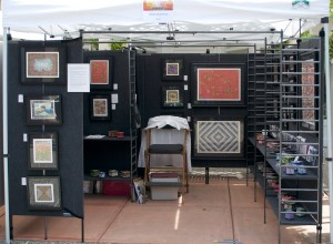 My Booth at Earth Day (minus me!)