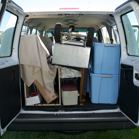 From the Back of the Van