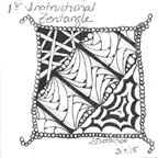 Debbie's First Zentangle
