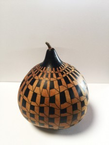 Completed Calabash Gourd