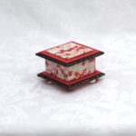 "2""  Short Bright Red Cherry Box"