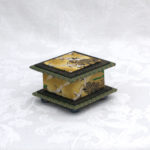 "2""  Short Ochre Crane Box"
