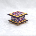 "2""  Short Purple Happy Box"
