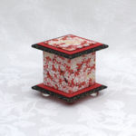 "2"" Tall Bright Red Cherry Box"