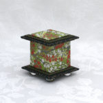 "2"" Tall Green Cherry Box"