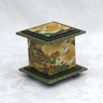 "2"" Tall Ochre Crane Box"