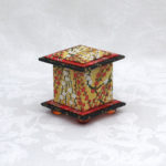 "2"" Tall Yellow Cherry Box"