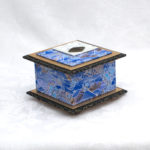 "3.5"" Electric Blue Fan Box"