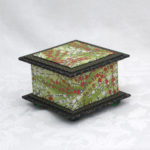 "3.5"" Green Cherry Box"