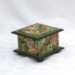 "3.5"" Green Temple Box"