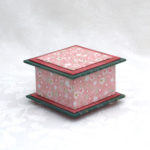 "3.5"" Pink and Pine Box"